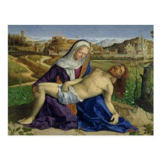 Carte Postale Le Pieta, c.1505 (huile sur panneau) (restor 1996
