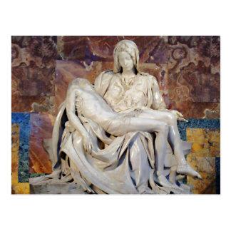 Carte Postale Le Pieta de Michaël Angelo