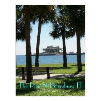 Carte Postale Le pilier St Petersburg la Floride