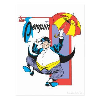 Carte Postale Le pingouin 2