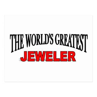 Carte Postale Le plus grand bijoutier du monde