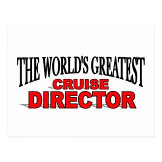 Carte Postale Le plus grand directeur de la croisière du monde