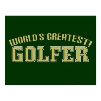 Carte Postale Le plus grand golfeur du monde !