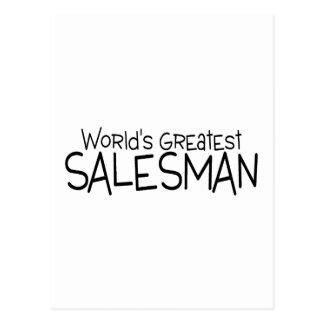 Carte Postale Le plus grand vendeur des mondes