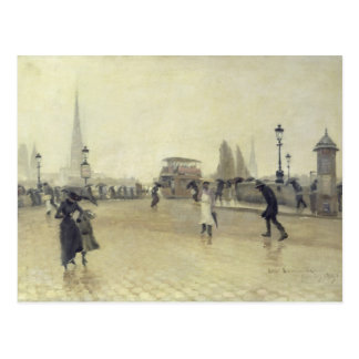 Carte Postale Le Pont Corneille, Rouen, 1891