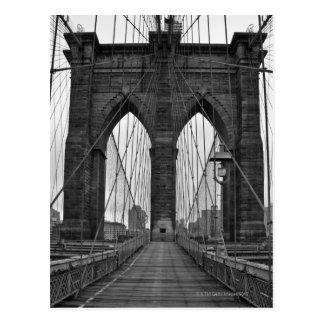 Carte Postale Le pont de Brooklyn à New York City