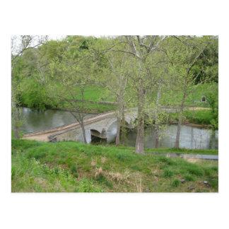 Carte Postale Le pont de Burnside, Antietam Creek, Sharpsburg,