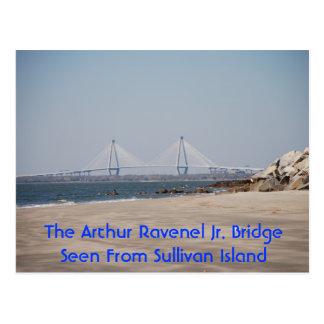 Carte Postale Le pont de Jr. d'Arthur Ravenel