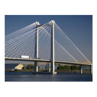 Carte Postale Le pont d'Ed Hendler enjambe le fleuve Columbia