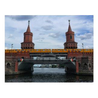 Carte Postale Le pont d'Oberbaum, BERLIN