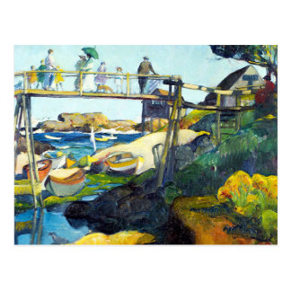 Carte Postale Le pont gai Maine Etats-Unis