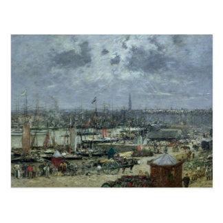 Carte Postale Le port du Bordeaux, 1874