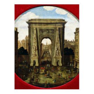 Carte Postale Le Porte Saint-Denis