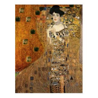 Carte Postale Le portrait Adele Bloch-Bauer de Klimt