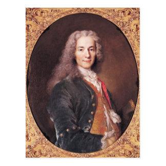 Carte Postale Le portrait de Voltaire a vieilli 23, 1728