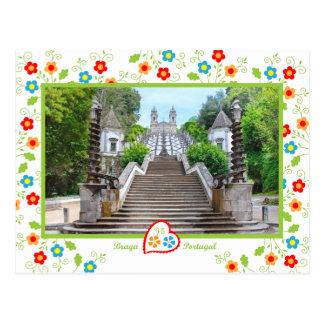 Carte Postale Le Portugal en photos - Bom Jésus, Braga