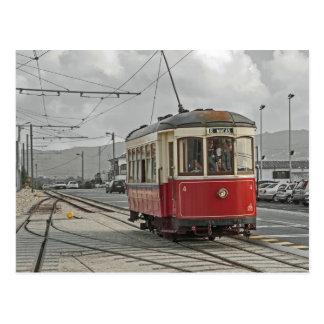 Carte Postale Le Portugal : La tramway Sintra et Praia DAS Mäças
