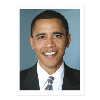 Carte Postale Le Président Barack Obama