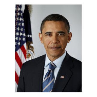 Carte Postale Le Président Barack Obama en 2009