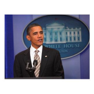Carte Postale Le Président Barack Obama fait un faire-part