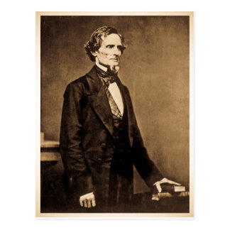 Carte Postale Le Président du sud Jefferson Davis