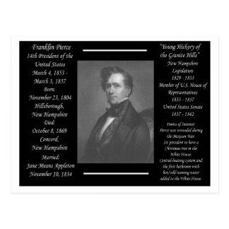 Carte Postale Le Président Franklin Pierce