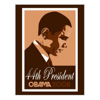 Carte Postale Le Président Postcard 3 d'Obama Brown