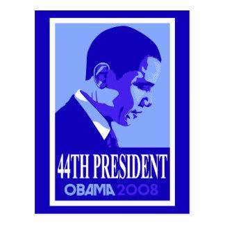 Carte Postale Le Président Postcard de bleu quarante-quatrième