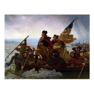 Carte Postale Le Président vintage George Washington le