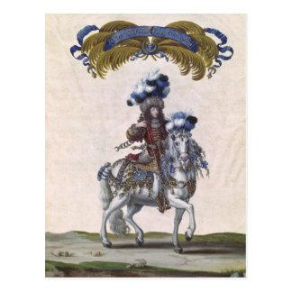 Carte Postale Le prince de Conde