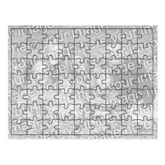 Carte Postale Le puzzle fait sur commande Postcard-63 de