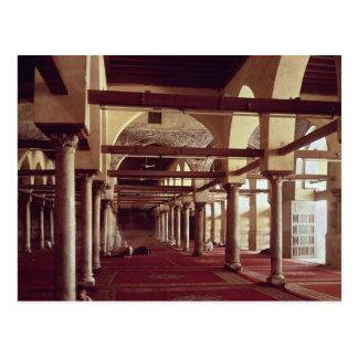 Carte Postale Le Qibla Liwan de la mosquée d'Al-Azhar