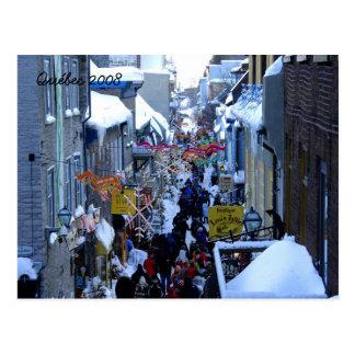 Carte Postale Le Québec 2008