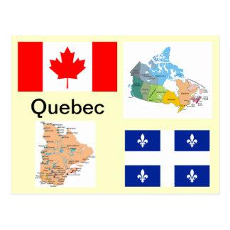 Carte Postale Le Québec Canada