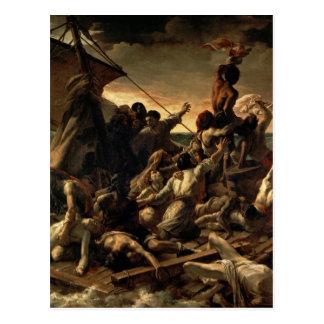 Carte Postale Le radeau de la méduse - Théodore Géricault