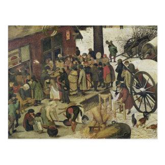 Carte Postale Le recensement à Bethlehem 2