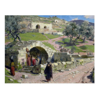Carte Postale Le ressort de Vierge à Nazareth, 1882