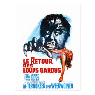 Carte Postale Le Retour Des Loups Garous