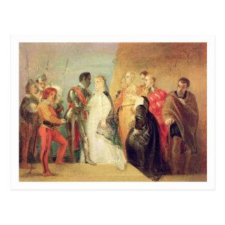 Carte Postale Le retour d'Othello, Loi II, scène II de 'Othe