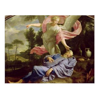 Carte Postale Le rêve d'Élijah, 1650-55