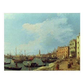 Carte Postale Le Riva Degli Schiavoni, 1724-30