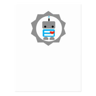Carte Postale Le robot !