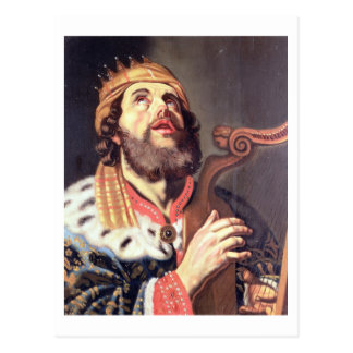 Carte Postale Le Roi David (panneau)