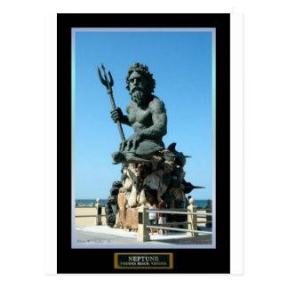 Carte Postale Le Roi Neptune