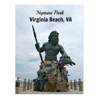 Carte Postale Le Roi Neptune Park, Virginia Beach, VA