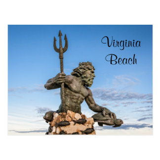 Carte Postale Le Roi Neptune Statue Postcard