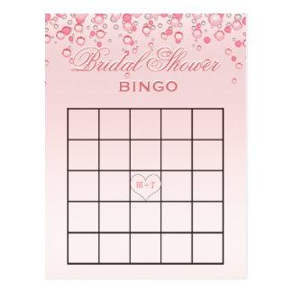 Carte Postale Le rose nuptiale du bingo-test | de douche
