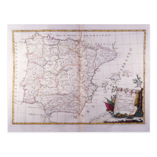 Carte Postale Le royaume de l'Espagne