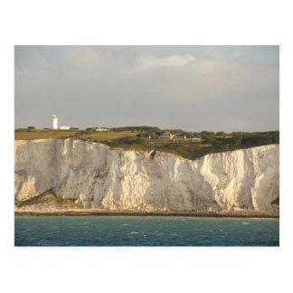Carte Postale Le Royaume-Uni, Douvres. Les falaises blanches