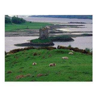Carte Postale Le Royaume-Uni, Ecosse, île de Skye, vieille